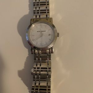 Burberry women's stainless steel watch